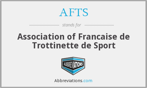 What does trottinette stand for?