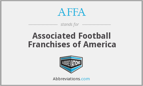AFFA - Associated Football Franchises of America