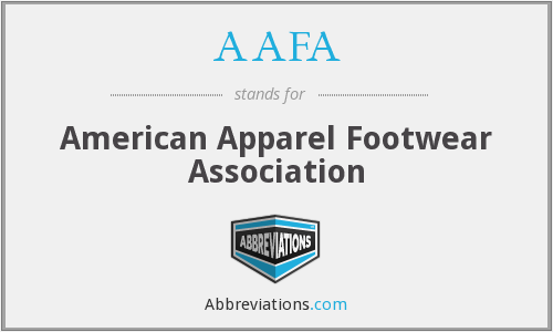 AAFA - American Apparel Footwear Association