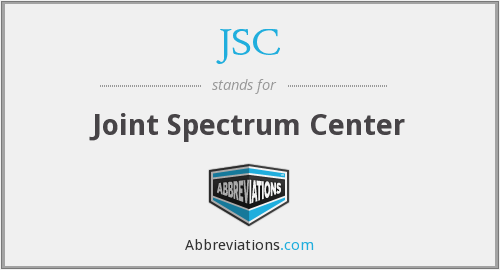JSC - Joint Spectrum Center