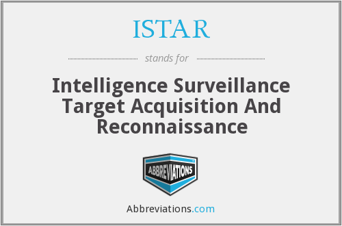 What does ISTAR stand for?