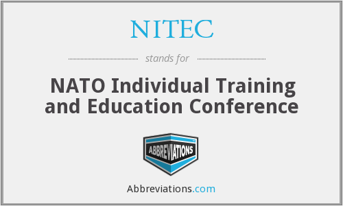 What does NITEC stand for?