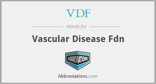 VDF - Vascular Disease Fdn