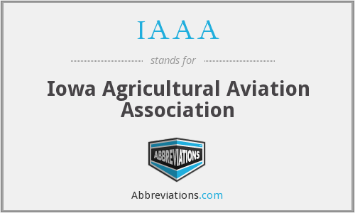 IAAA - Iowa Agricultural Aviation Association