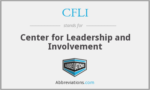 CFLI - Center for Leadership and Involvement
