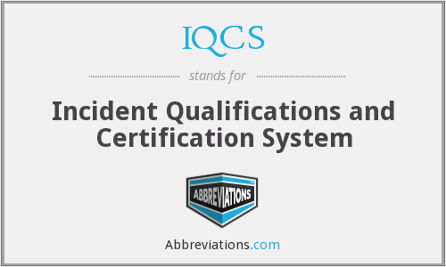 What does IQCS stand for?