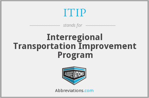 What does ITIP stand for?
