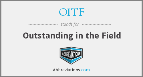 What does OITF stand for?