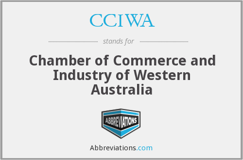 CCIWA - Chamber of Commerce and Industry of Western Australia