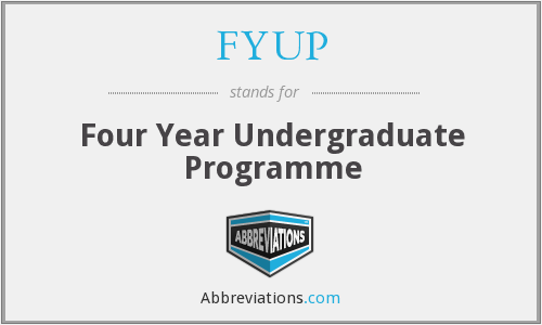 What does FYUP stand for?