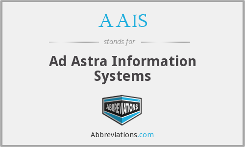 AAIS - Ad Astra Information Systems