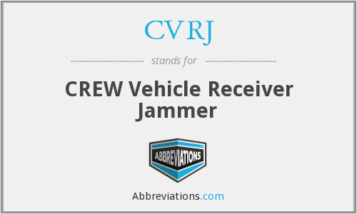 What does CVRJ stand for?