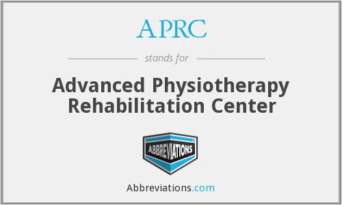 APRC - Advanced Physiotherapy Rehabilitation Center