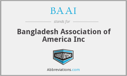What does BAAI stand for?