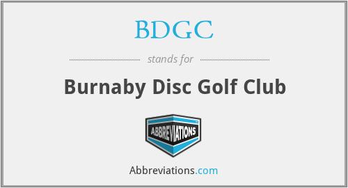 BDGC - Burnaby Disc Golf Club