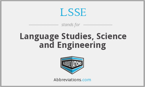 What does LSSE stand for?