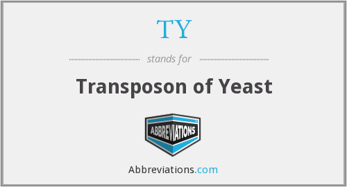 TY - transposon of yeast