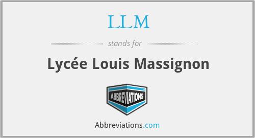 LLM - Lycée Louis Massignon