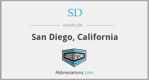 SD - San Diego, California