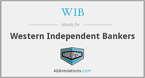 What does WIB stand for?