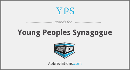 YPS - Young Peoples Synagogue