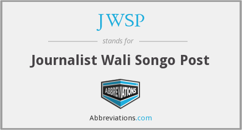 What does JWSP stand for?