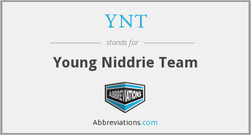 YNT - Young Niddrie Team