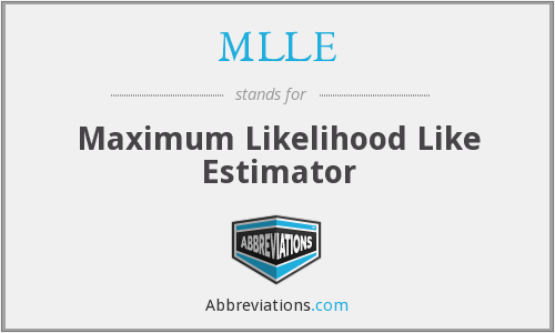 What does MLLE stand for?