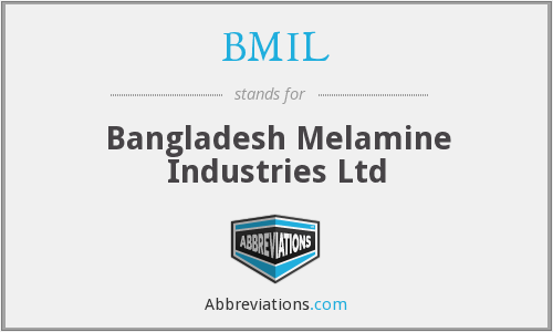 What does BMIL stand for?