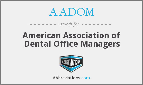 What does AADOM stand for?