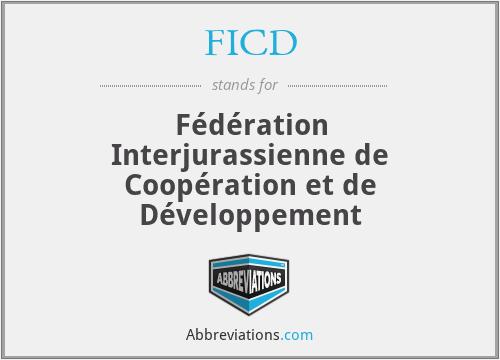 FICD - Fédération Interjurassienne de Coopération et de Développement