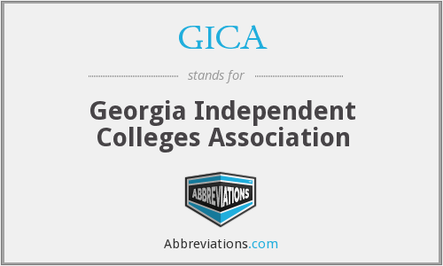 GICA - Georgia Independent Colleges Association