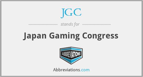 JGC - Japan Gaming Congress