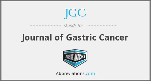 JGC - Journal of Gastric Cancer
