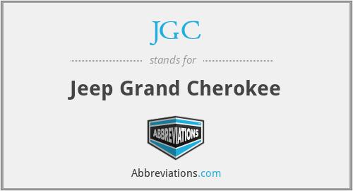 JGC - Jeep Grand Cherokee
