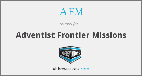 What does AFM stand for? — Page #2