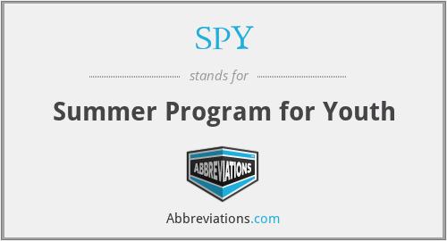 SPY - Summer Program for Youth