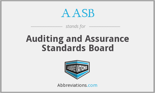 AASB - Auditing and Assurance Standards Board