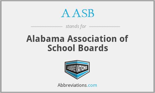 AASB - Alabama Association of School Boards