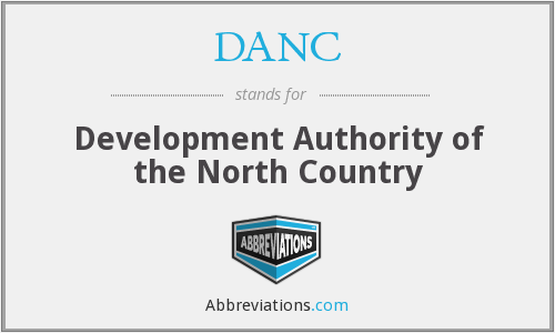 What does DANC stand for?
