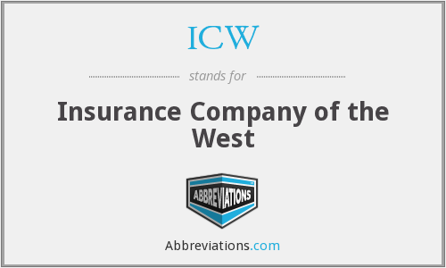 ICW - Insurance Company of the West