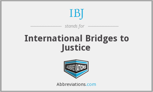 What does IBJ stand for?