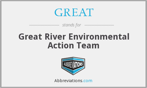 GREAT - Great River Environmental Action Team