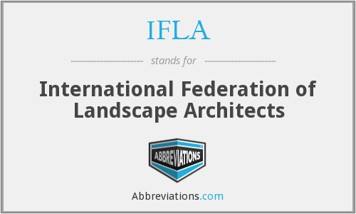 What does IFLA stand for?