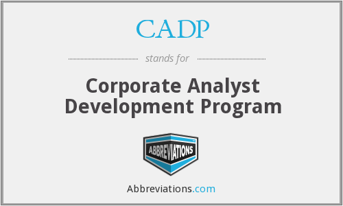 What does CADP stand for?