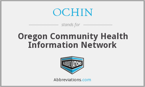 What does OCHIN stand for?