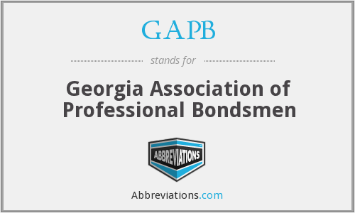 What does GAPB stand for?