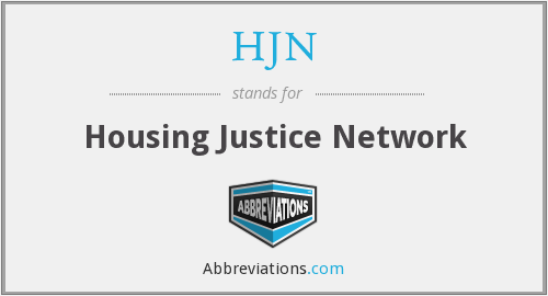HJN - Housing Justice Network