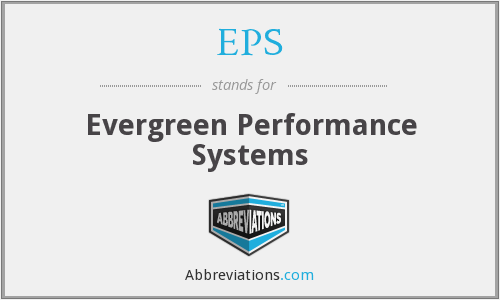 EPS - Evergreen Performance Systems