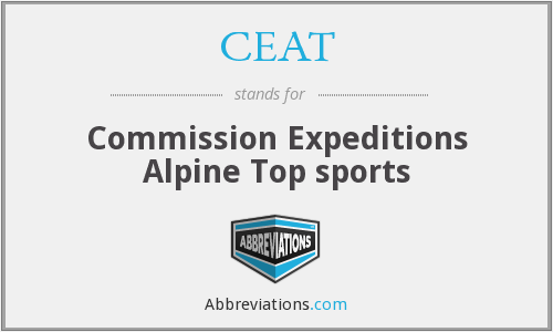 CEAT - Commission Expeditions Alpine Top sports